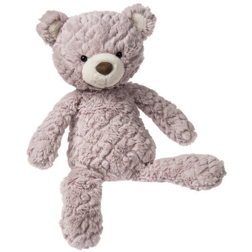 Dusty Rose Putty Bear - 17""