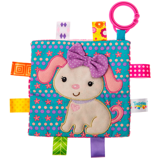 Taggies Crinkle Me Sister Puppy - 6.5x6.5""