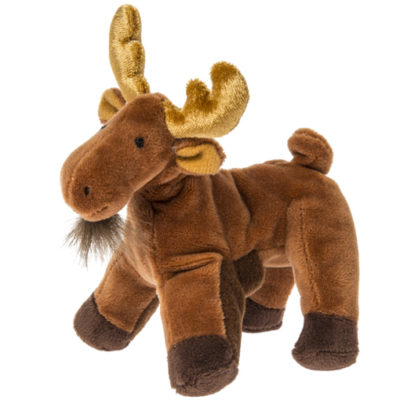 Munchin Moose Finger Puppet - 6""