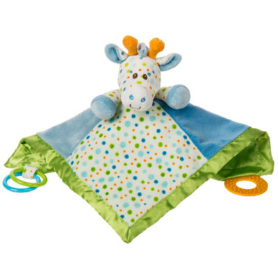 Little Stretch Giraffe Activity Blanket - 13x13""