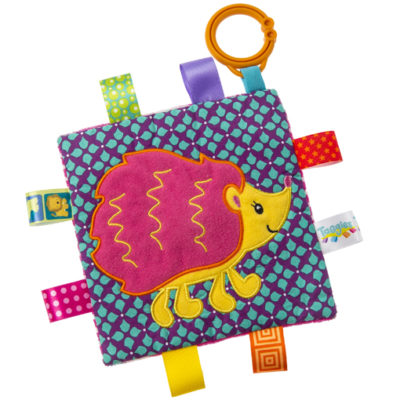 "Taggies Crinkle Me Hedgehog - 6.5"" x 6.5"""
