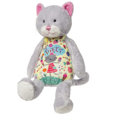 """Life is Sweet"" Whimsy Doodles Cat – 14″"