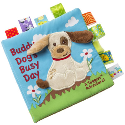 Taggies Buddy Dog Soft Book - 6x6""