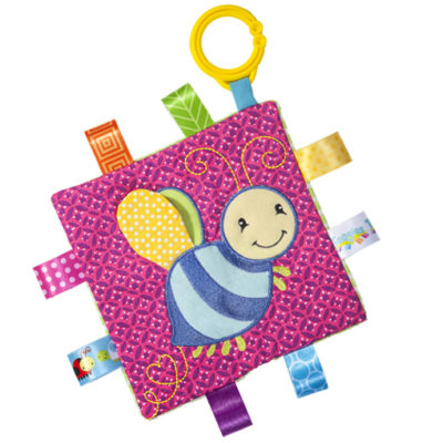 "Taggies Crinkle Me Honey Bee - 6.5"" x 6.5"""