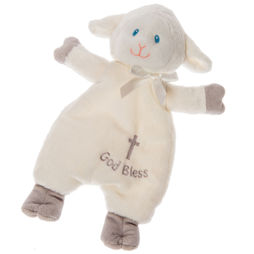 Christening Lamb Lovey - 12""