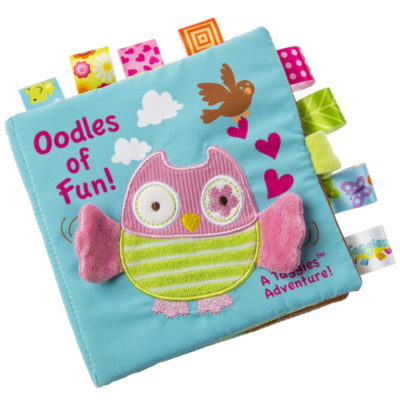 Taggies Oodles Owl Soft Book - 6x6""