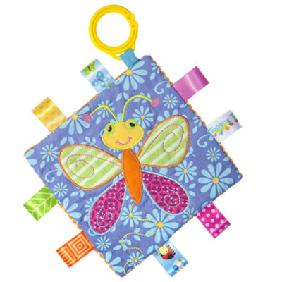 """Taggies Crinkle Me Butterfly - 6.5"""" x 6.5"""""""