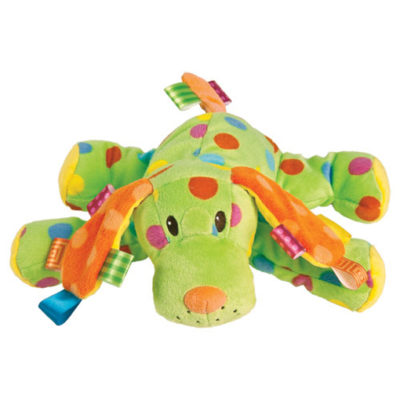 Taggies Colours Spotty Dog - 10""