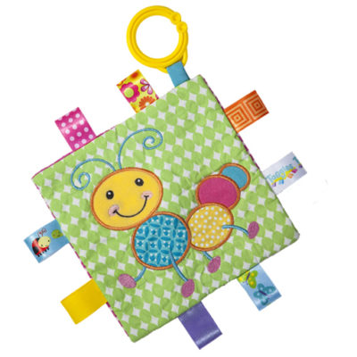 "Taggies Crinkle Me Caterpillar - 6.5"" x 6.5"""