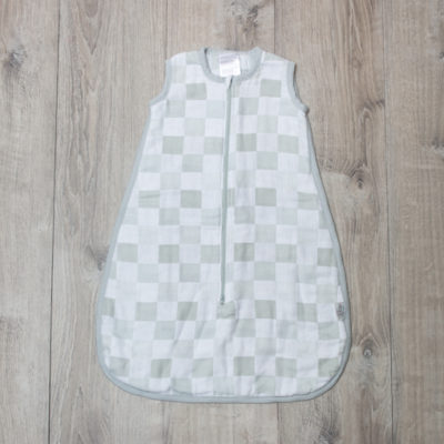 Lulujo-Grey Luxe Sleeping Sack