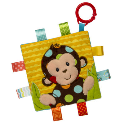 mary meyer taggies crinkle me dazzle dots monkey