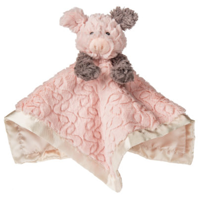 "Putty Piglet Character Blanket - 13x13"" #42665"