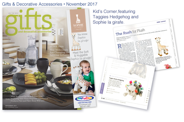 Gifts & Decorative Accessories - November 2017