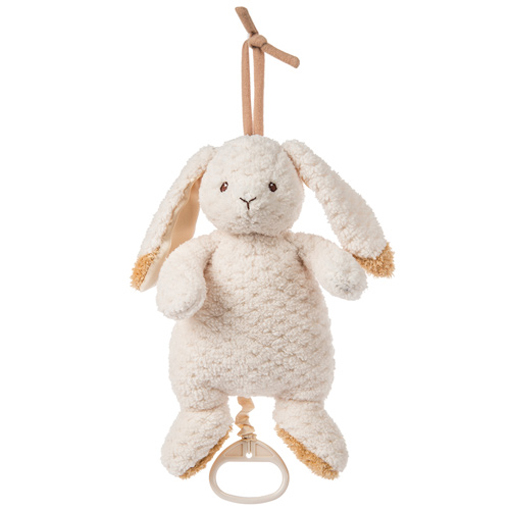 Oatmeal Bunny Pull Musical - 10""