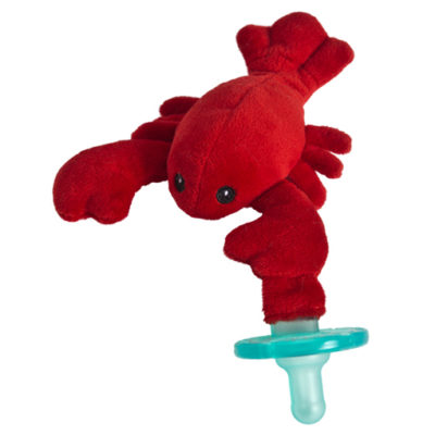 "Lobbie Lobster WubbaNub Pacifier - 6"""