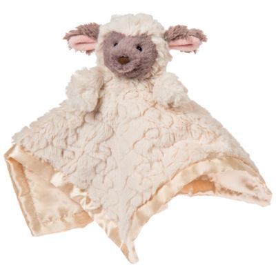 "Putty Nursery Lamb Character Blanket - 13x13"""