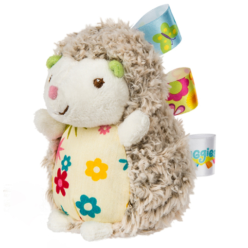 Taggies Petals Hedgehog Rattle - 5""