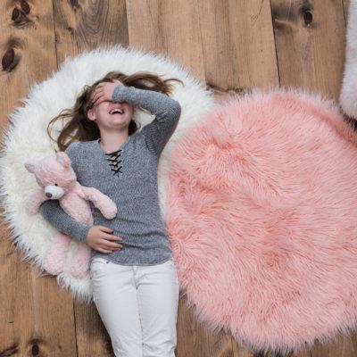 Mary Meyer Blush Putty Bear